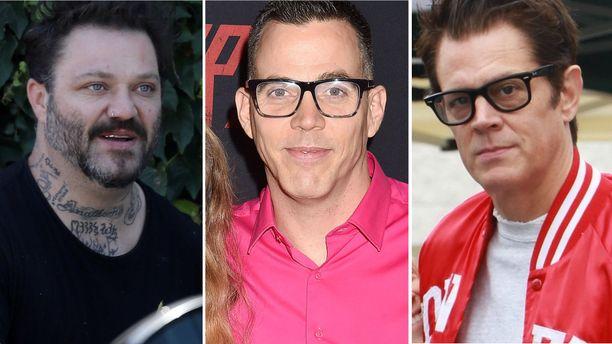 Tältä Bam Margera, Steve-O ja Johnny Knoxville näyttävät nykyään.