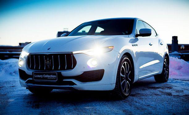 Maserati Levante kääntää kirjaimellisesti päitä.