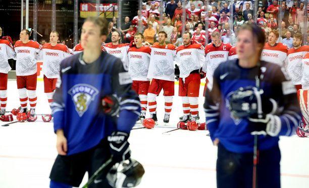 Suomi taipui Tanskalle keskiviikkona 2-3. Maat ovat kohdanneet yhteensä 18 kertaa, joista Suomella on 15 voittoa ja Tanskalla kolme. Maaliero on Suomelle 82-21.