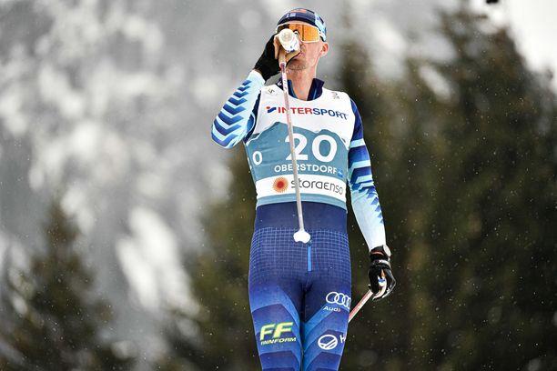 Perttu Hyvärinen halusi vaihtaa ammattia kesken viidenkympin kisan.