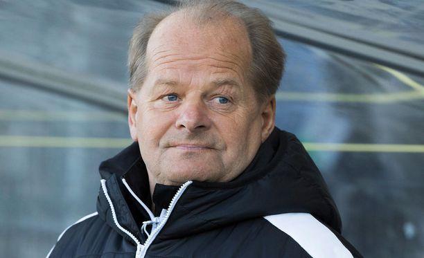 Antti Muurinen ei ole huolissaan HIFK:n peliesityksistä.