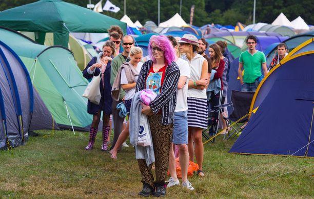 Wilderness Festival tarjoaa tavistelttailun lisäksi myös boutique-telttoja vaativampaan makuun.