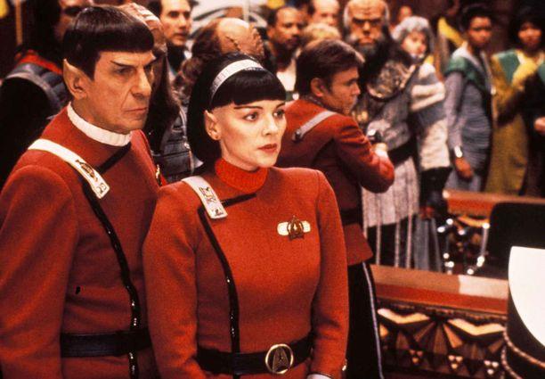 Nimoyn tunnetuin hahmo on Star Trek -tv-sarjojen ja -elokuvien suippokorvainen puoliksi vulkanuslainen Mr. Spock.