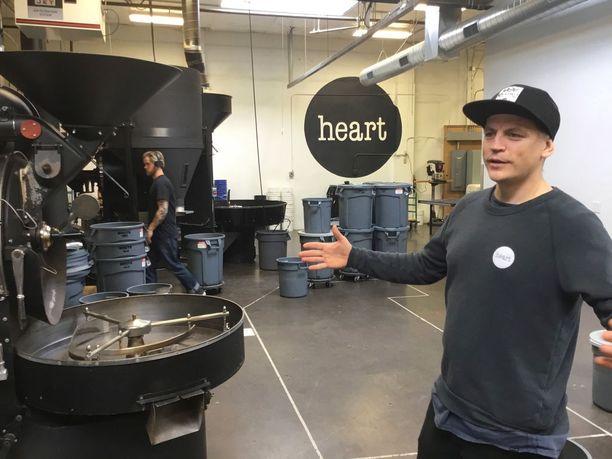 Wille Yli-Luoman firmalla on Portlandissa kolme kahvilaa ja moderni paahtimo.