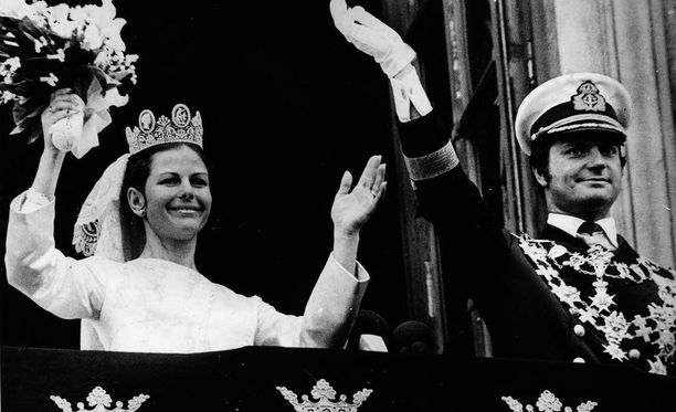 Kuningasparin häät televisioitiin taannoin myös Suomessa.