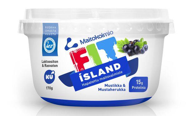 Fit Island on Skyr-rahkan uusi kilpailija.