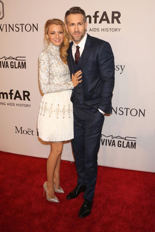 Ryan Reynolds on naimisissa näyttelijä Blake Livelyn kanssa.