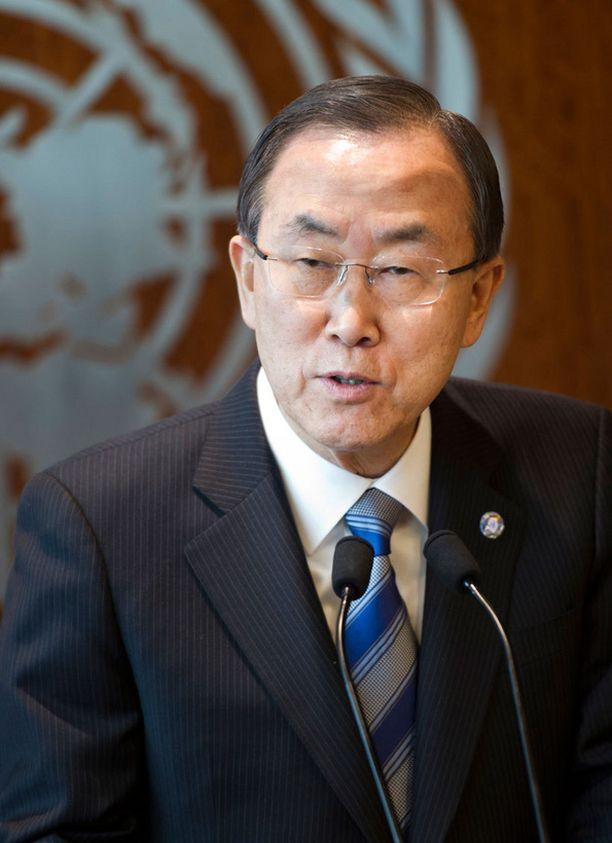 Ban Ki-moonin mukaan Pohjois-Korean tulee lopettaa uhkaustehtailu.
