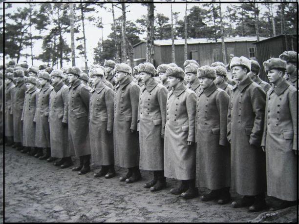 Suomen riveissä taistelleita inkerinsuomalaisia sotilaita.