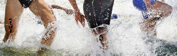 Calvin Lee kuoli triathlonin uintiosuudella.