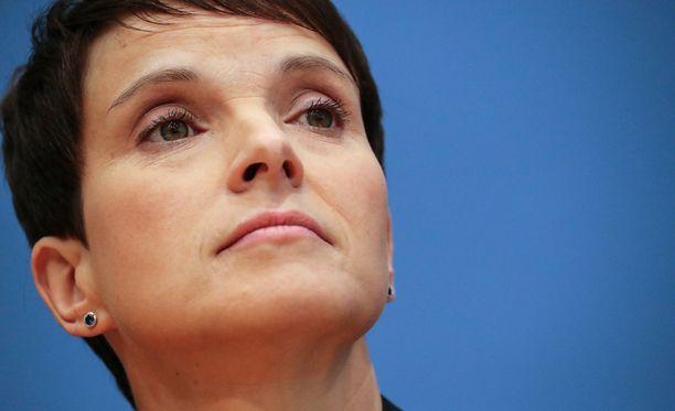 Frauke Petry aikoo erota Vaihtoehto Saksalle -puolueestaan, jonka menestykseen hän on suuresti vaikuttanut.