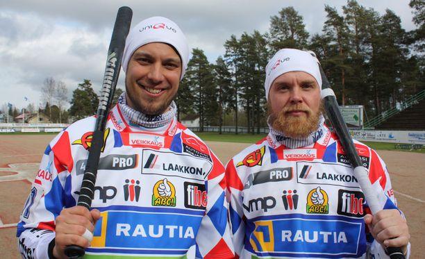 Taikuri ja Fakiiri. Mikko Rantalahti ja Janne Mäkelä ovat sinut itsensä kanssa ja kertovat avoimesti tarinansa.