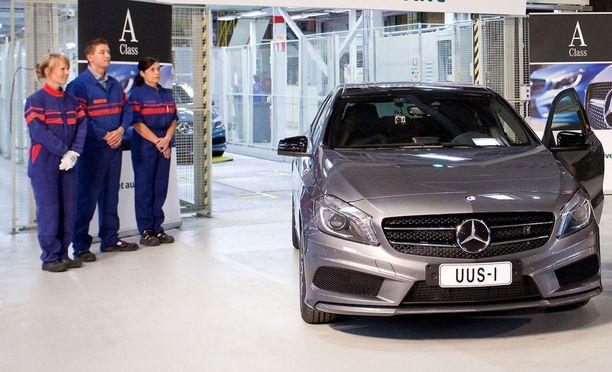 Mercedes-mallien valmistus työllistää nyt ja tulevaisuudessa Uudessakaupungissa.