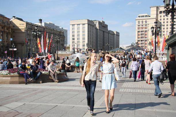 Venäjällä vapun poliittinen merkitys on hälvennyt. Vapaapäivä kuitenkin kelpaa.