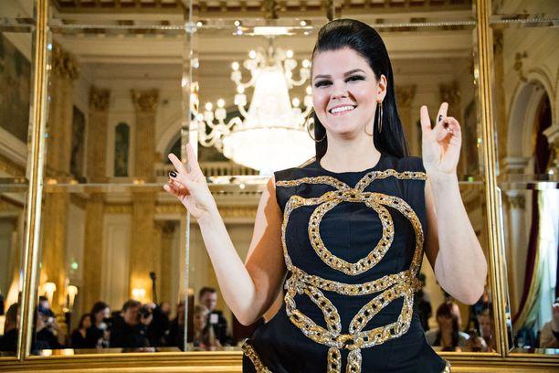 Saara Aalto lähtee Euroviisuihin Portugaliin.