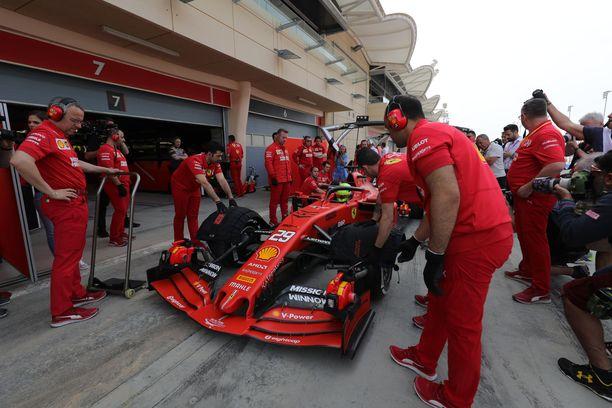Mick Schumacher kellotti aamupäivän kahdeksanneksi parhaan ajan.
