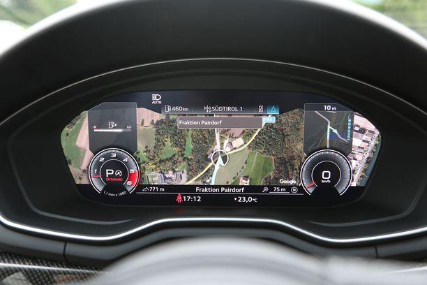Teräväpiirtoisen 12,3-tuumaisen digitaalimittariston saa nyt ilman navigaatiojärjestelmän ostopakkoa.