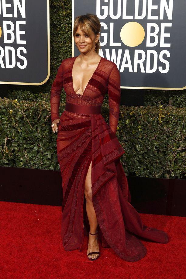 Halle Berry nähtiin Golden Globe -gaalassa tammikuussa.
