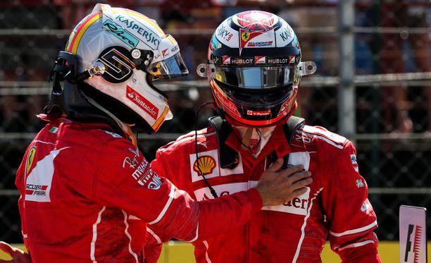 Ferrari-kuljettajat menestyivät Unkarin GP:ssä.