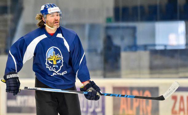 Jaromir Jagr on viime aikoina treenannut kotimaassaan Kladnon joukkueessa.