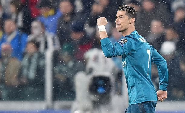 Cristiano Ronaldo on tehnyt tällä kaudella Mestarien liigassa 14 maalia yhdeksässä ottelussa.