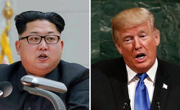 Kim Jong-un ja Donald Trump ovat käynnistäneet pelin, jonka lopussa voi häämöttää ydinsota.