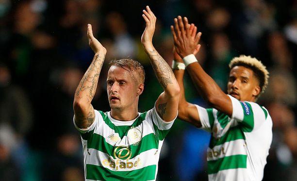 Celtic karkasi avausosassa 5-0-etumatkalle ja sinetöi tiistaina jatkopaikkansa.
