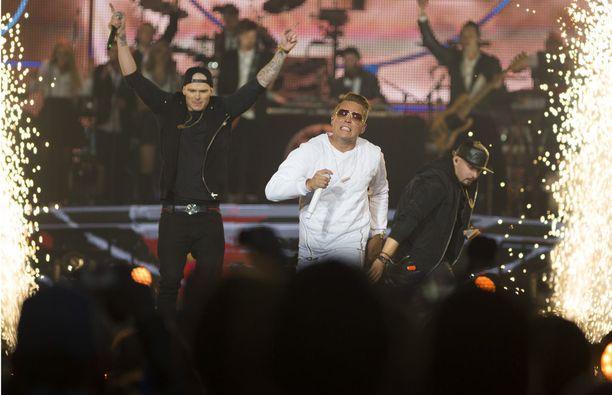 Olympiastadionin konsertit vuonna 2014 olivat Cheekin uran tähtihetkiä.