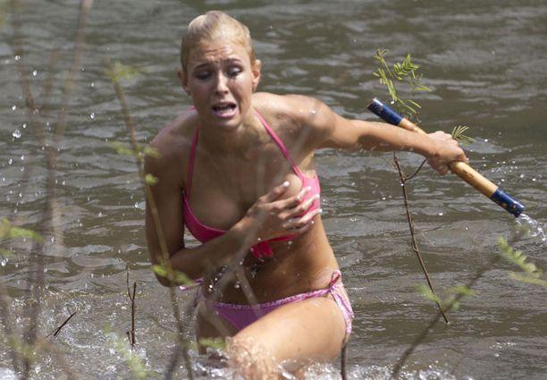 Maisa Torpan ja Martina Aitolehden tappelua ei näytetty televisiossa.