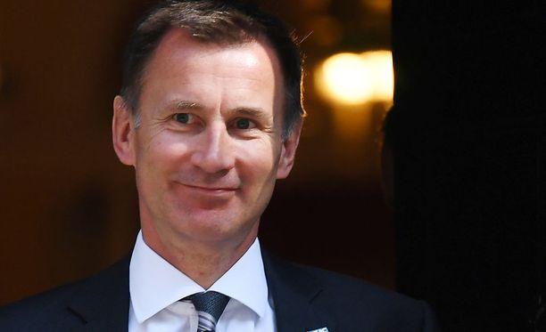 Jeremy Hunt on Britannian uusi ulkoministeri.