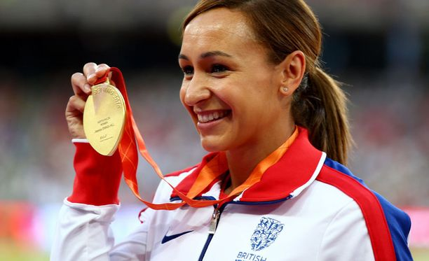 Jessica Ennis-Hill voitti seitsenottelun olympiakultaa Lontoossa 2012.
