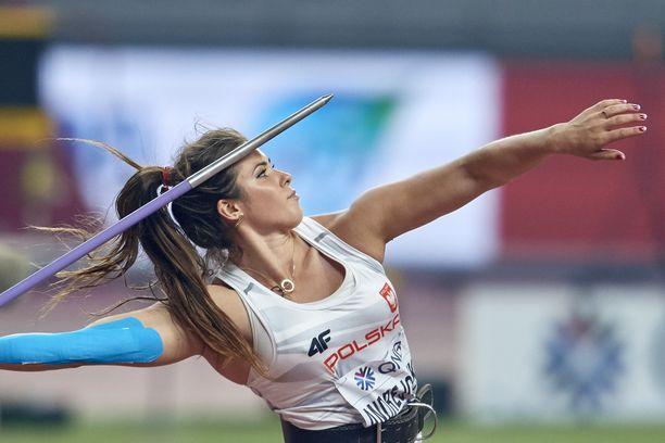 Puolan huippuheittäjä Maria Andrejczyk saapuu Turkuun kesäkuun alussa.
