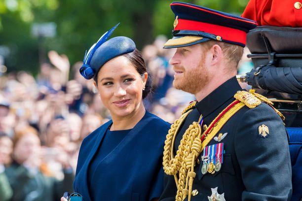 Prinssi Harry ja herttuatar Meghan pysyvät Los Angelesissa.