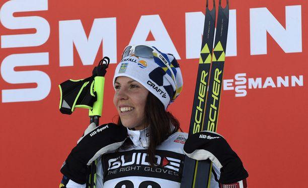 Charlotte Kalla haluaisi MM-viestiin nuoren Ebba Anderssonin.