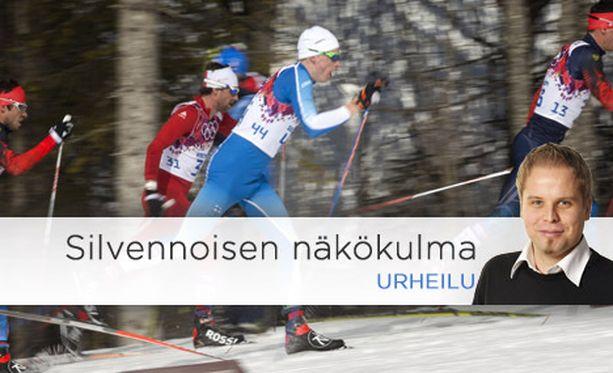 Näyttävällä tekniikalla sivakoiva Iivo Niskanen osoittaa, millaista on perinteisen hiihto kauneimmillaan.