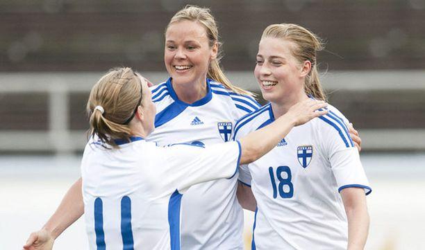 Suomen naiset kohtaavat torstaina Englannin.