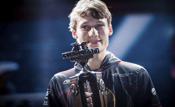 Joona Sotala voitti turnauksen 4.11.