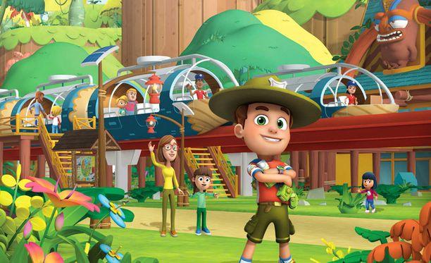 Retki-Roope on suunnattu erityisesti 4-7-vuotiaille lapsille.