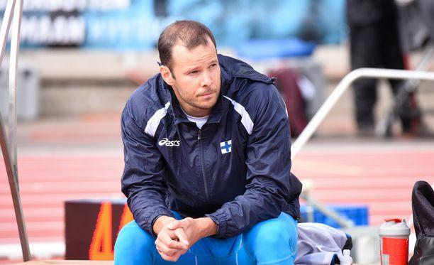 Tero Pitkämäki on Suomen ainoa keihäänheittäjä yleisurheilun MM-kisoissa.