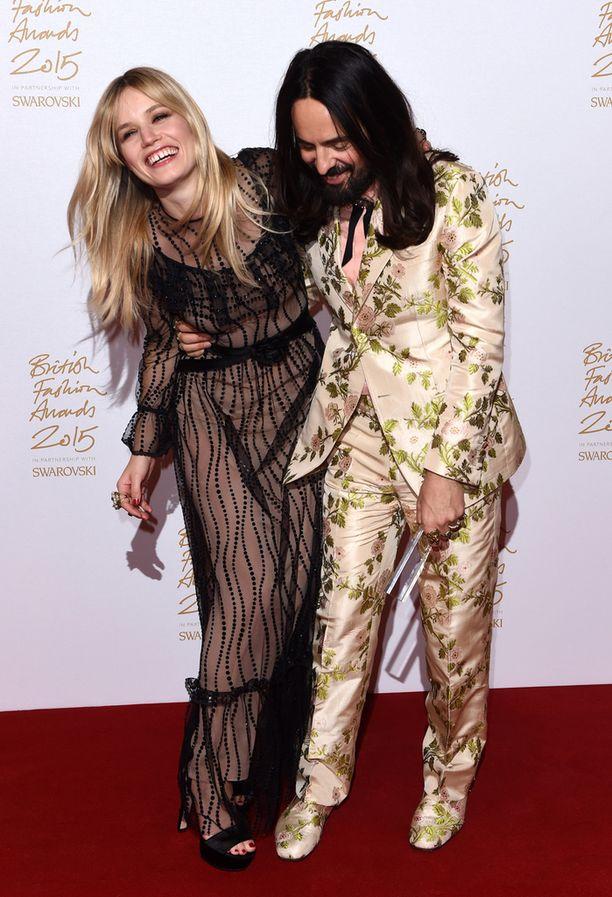 Alessandro Michele ja Georgia May Jagger
