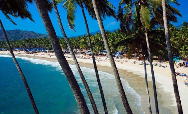 Intian Goa on edullinen rantakohde.