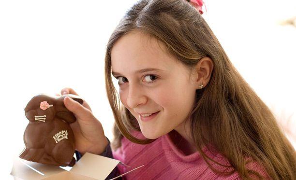 Suklaapuput ovat etenkin lasten himoitsema pääsiäisherkku.