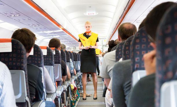 Lentoemännän työ ei ole aina glamouria.