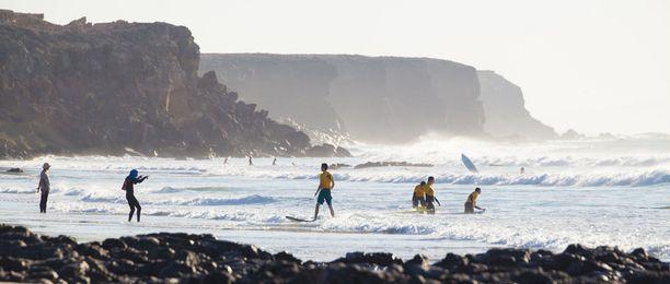Fuerteventura on surffaajien suosiossa.