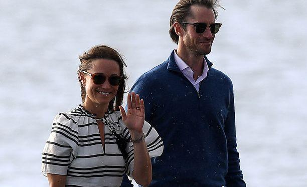 Pippa Middleton ja James Matthews saavat ensimmäisen lapsensa.