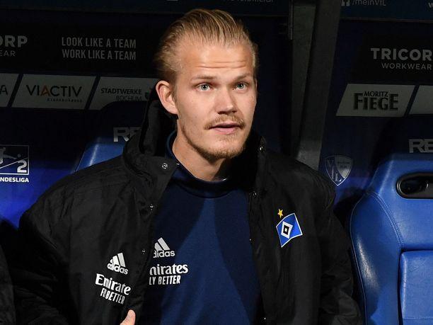 Joel Pohjanpalo haluaa pois HSV:n vaihtopenkiltä.