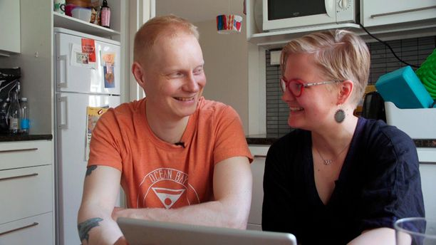 Tommi ja Juudit avioituivat Ensitreffit alttarilla -ohjelmassa kesällä 2020.