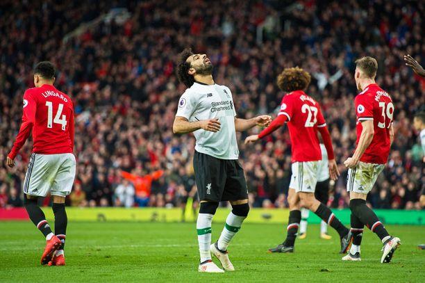 Mo Salah pääsee kiusaamaan loukkaantumisten vaivaamaa Manchester United -puolustusta.
