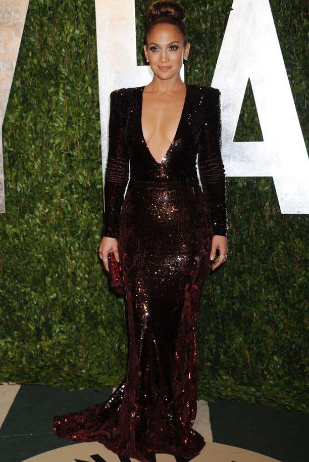 Jennifer Lopez juhli Vanity Fairin jatkoilla.