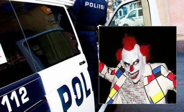 Poliisi on viime päivinä saanut ilmoituksia pelottelevista klovneista.